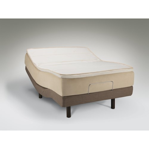 Tempur-Pedic® TEMPUR-Contour Allura King Medium Mattress and TEMPUR-Ergo™ Premier Adjustable Base