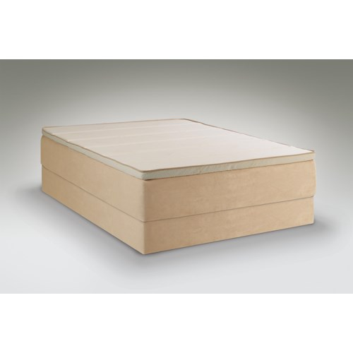 Tempur-Pedic® TEMPUR-Contour Allura California King Medium Mattress and High Profile Foundation