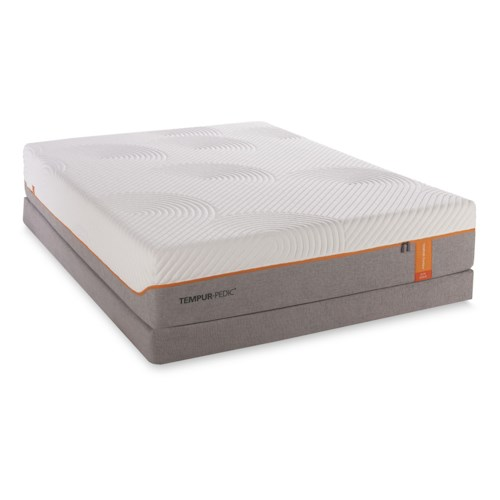 Tempur-Pedic® TEMPUR-Contour Elite Queen Medium-Firm Mattress and Foundation