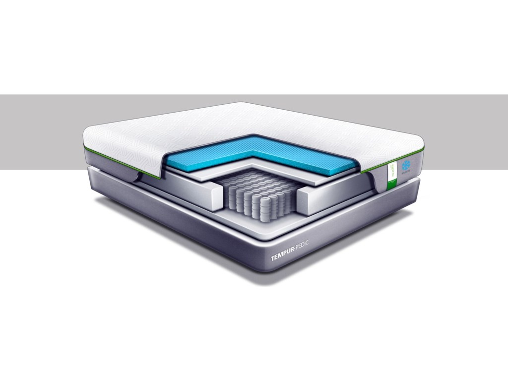 Cut-A-Way Showing Comfort Layers