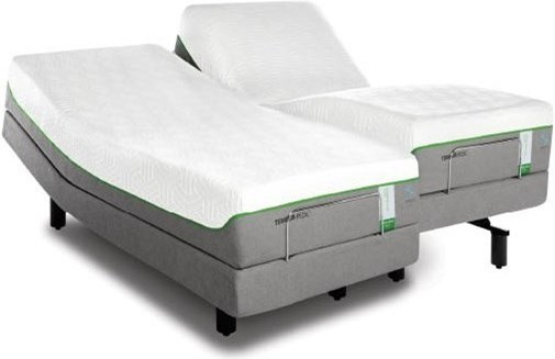 Image Shown May Not Represent Size Indicated; This Sku Includes a One Piece Cal King Mattress with Split Base - Split Cal King Set Available for Order, at an Up-Charge