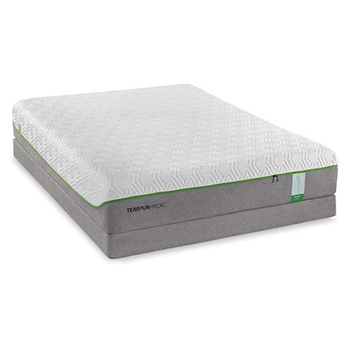 Tempur-Pedic® TEMPUR-Flex Supreme Full Medium Plush Mattress and Tempur-Flat High Profile Foundation