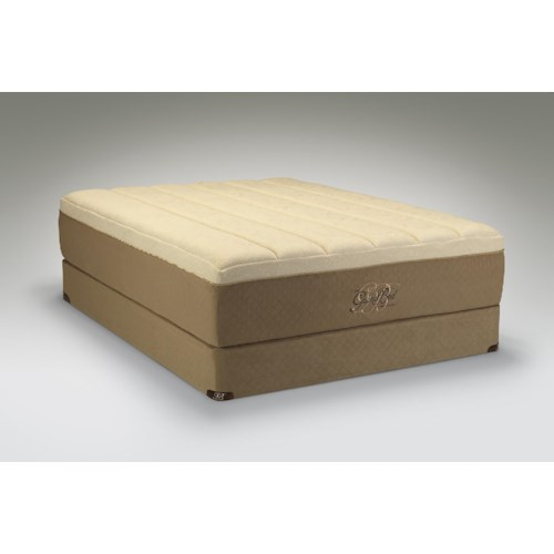 Tempur-Pedic® The GrandBed King Medium-Soft Mattress and High Profile Foundation
