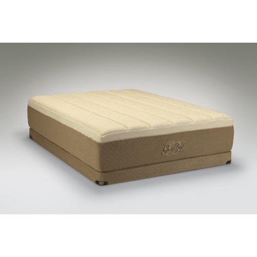 Tempur-Pedic® The GrandBed Queen Medium-Soft Mattress and Low Profile Foundation