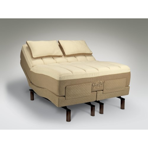 Tempur-Pedic® The GrandBed California King Medium-Soft Mattress and Tempur-Ergo Grand Adjustable Base