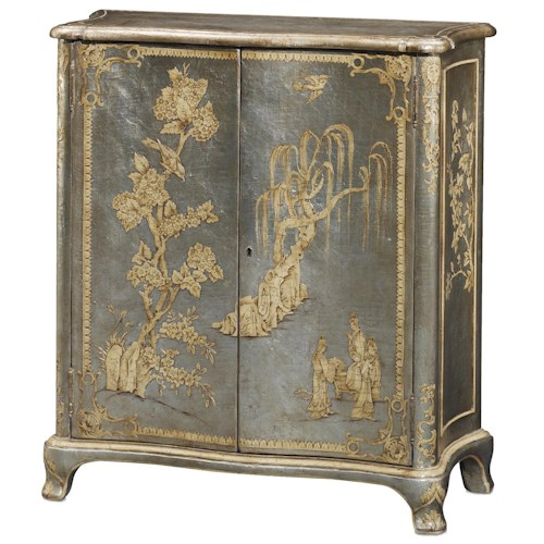 Theodore Alexander Argento Blossom Chinoiserie Cabinet