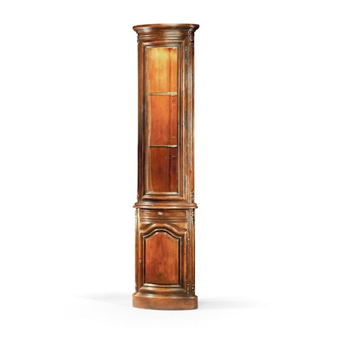 Theodore Alexander Bookcases French Provincial Pine Corner Cabinet Bookcase