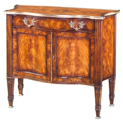 Theodore Alexander Cabinets and Sideboards Subtle Addition Mahogany Side Cabinet