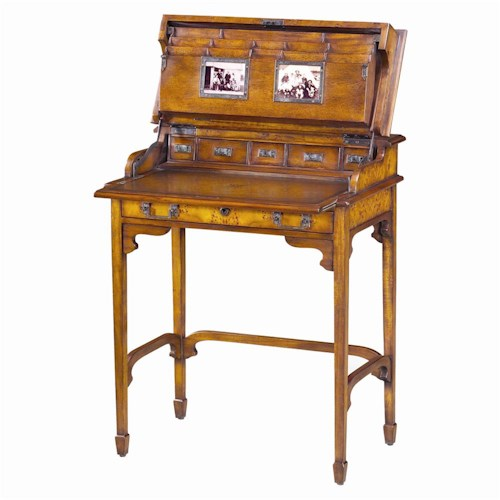 Theodore Alexander Desks Traditional Edwardian Campaign Desk