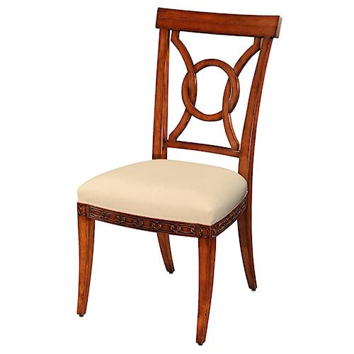 Theodore Alexander Essential TA Cherry Side Chair