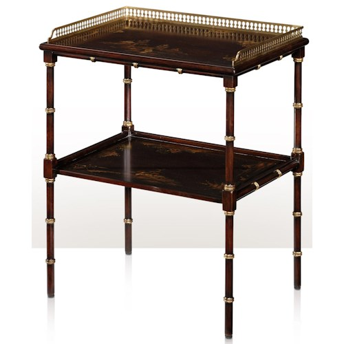 Theodore Alexander Indochine 2- Tier Lamp Table