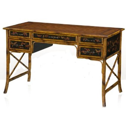 Theodore Alexander Indochine Writing Desk with 5 Drawers