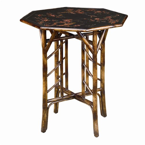 Theodore Alexander Tables Bamboo End Table