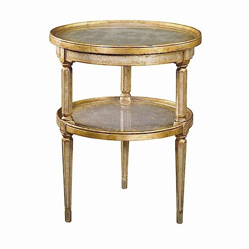 Theodore Alexander Tables 2 Tier Circular End Table