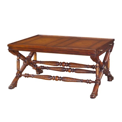 Theodore Alexander Tables Victorian Manx Cocktail Table