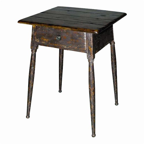 Theodore Alexander Tables American Rustic Lamp End Table