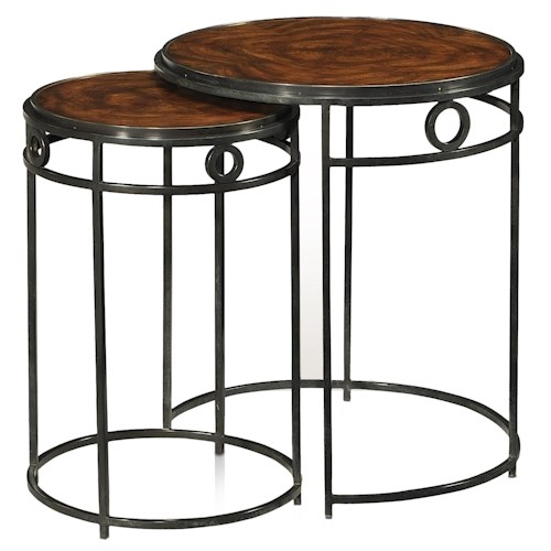 Theodore Alexander Vanucci Eclectics Nest of Two Tables