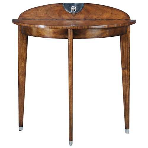 Theodore Alexander Vanucci Eclectics Argentinean Walnut Console Table