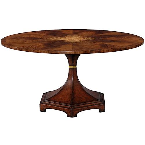 Theodore Alexander Vanucci Eclectics Flame Bubinga Centre Table