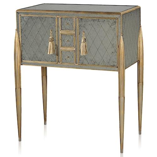 Theodore Alexander Vanucci Eclectics Unmistakably Fine Bar Cabinet
