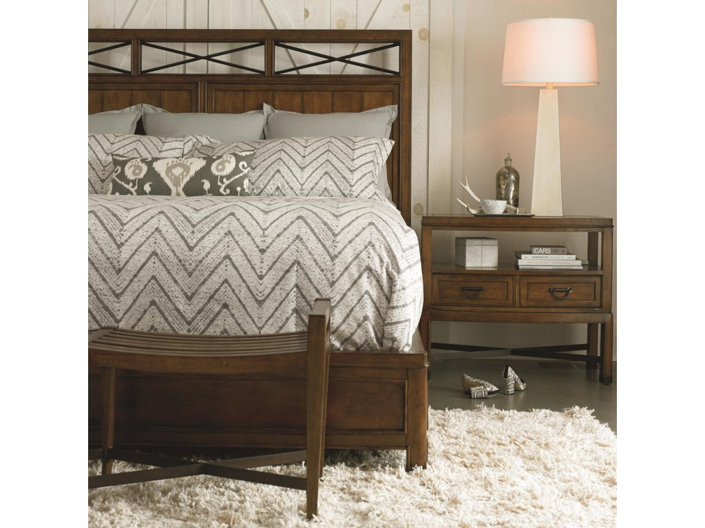 Shown with Nightstand and Bench