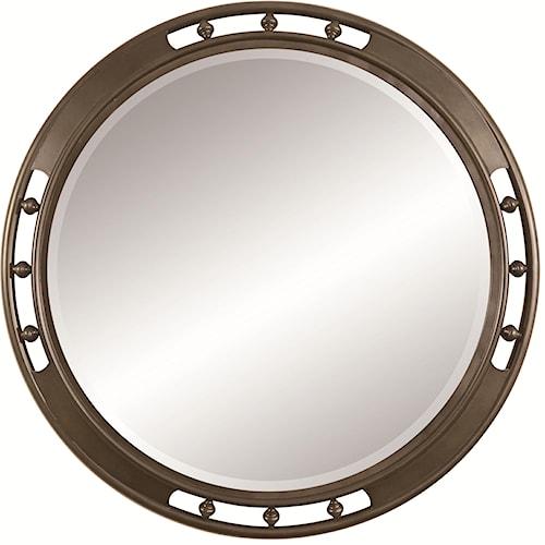 Thomasville® American Anthem Round Mirror w/ Beveled Plate