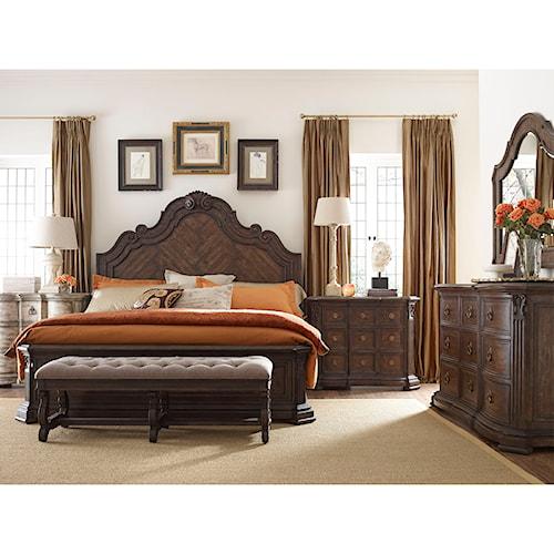 Thomasville® Casa Veneto Queen Bedroom Group