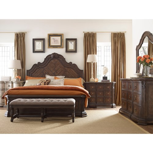 Thomasville® Casa Veneto King Bedroom Group