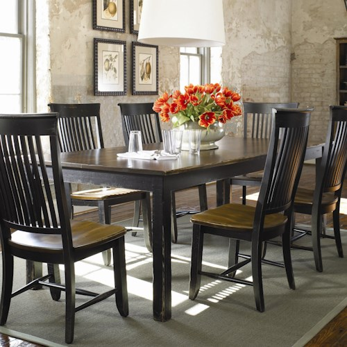 Thomasville® Color Café - Custom Dining Customizable Rectangular Table