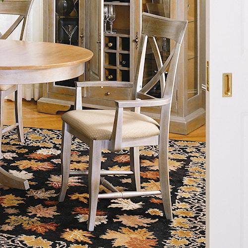 Thomasville® Color Café-Custom Dining Customizable Dining Arm Chair