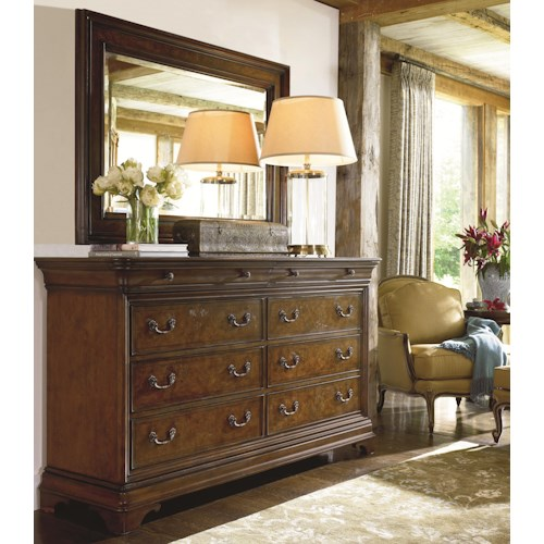 Thomasville® Deschanel Dresser w/ Wall Mirror
