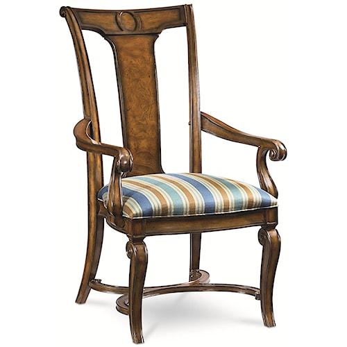 Thomasville® Deschanel Arm Chair w/ Splat Back