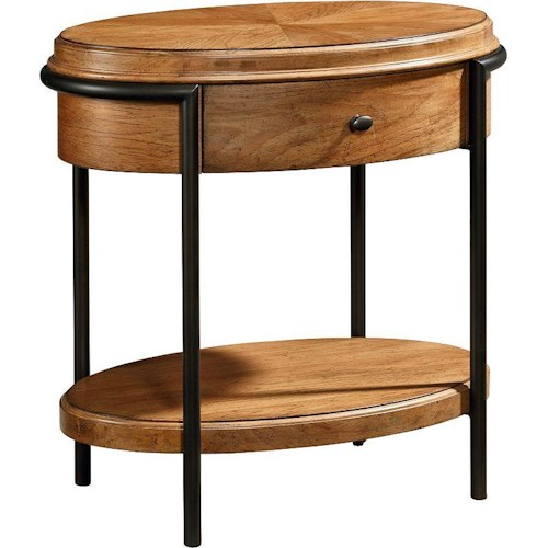 Thomasville® Emerge  Oval Shaped Night Table