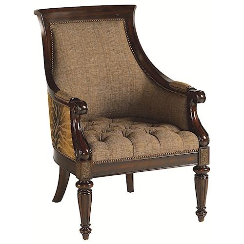 Thomasville® Ernest Hemingway 462 Exposed Wood Anson Chair
