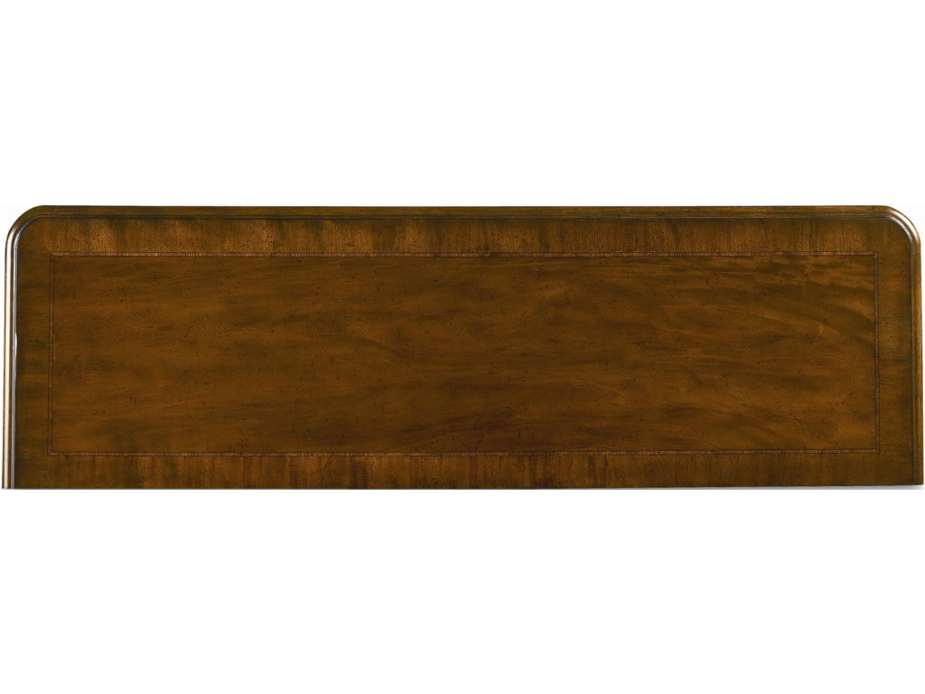 Wood Top with Veneer Banding