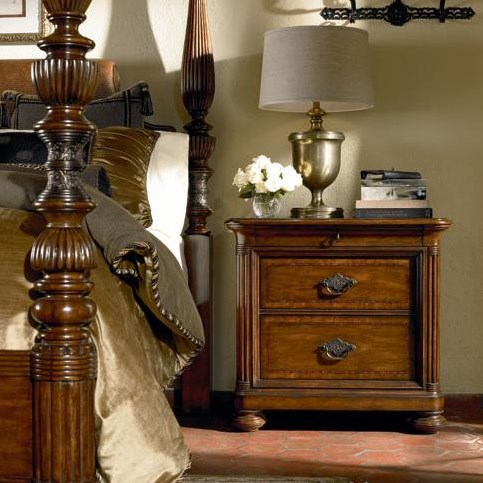 Nairobi Nightstand Shown in Room Setting
