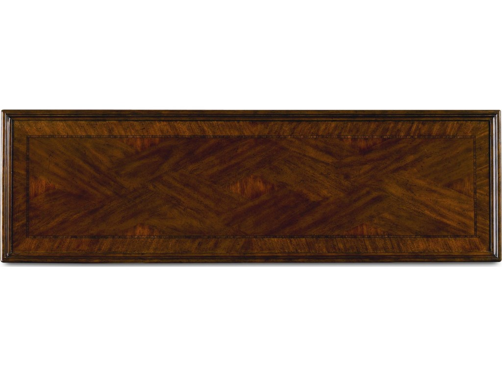 Rectangular Table Top with Veneer Banding
