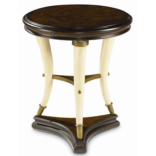 Thomasville® Ernest Hemingway  Hunt Club Round Accent Table