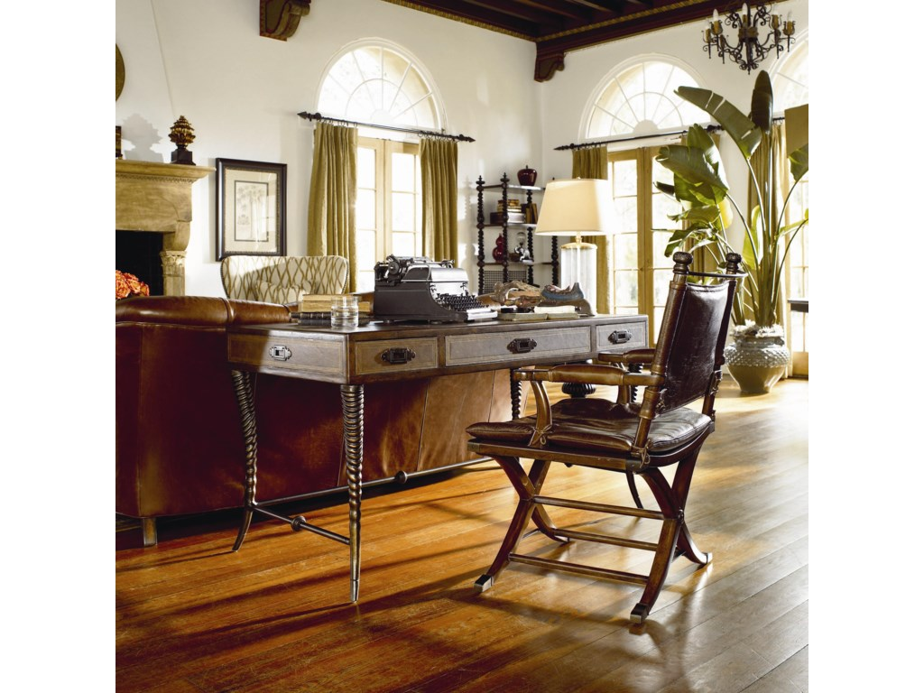 Safari Writing Desk Shown with Safari Desk Chair
