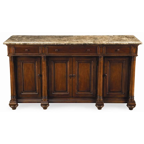 Thomasville® Fredericksburg Credenza with Marble Top