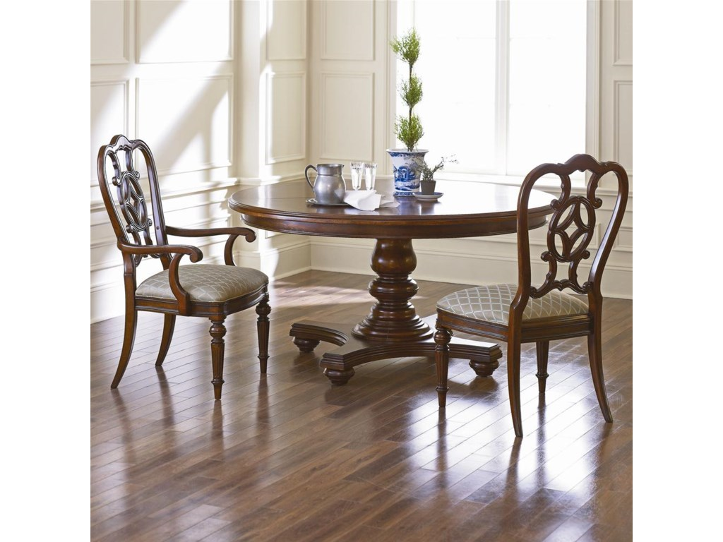 Shown with Matching Arm Chair and Round Dining Table