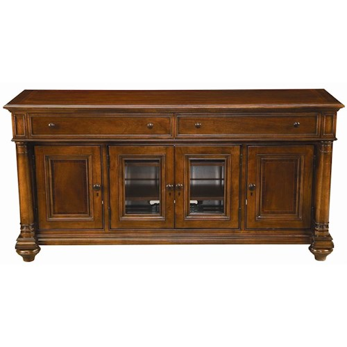 Thomasville® Fredericksburg Media Console with Four Doors