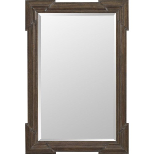 Thomasville® Harlowe & Finch Granada Rectangular Mirror with Beveled Frame
