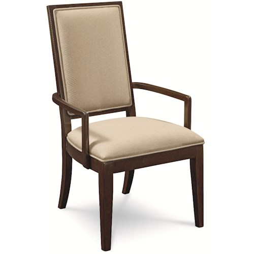 Thomasville® Lantau Upholstered Dining Arm Chair