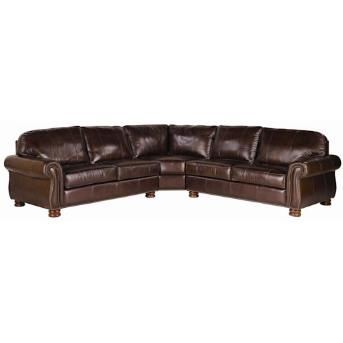 Thomasville® Leather Choices - Benjamin Leather Select 3-Piece Sectional