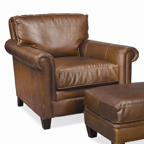 Thomasville® Leather Choices - Mercer Select Leather Arm Chair