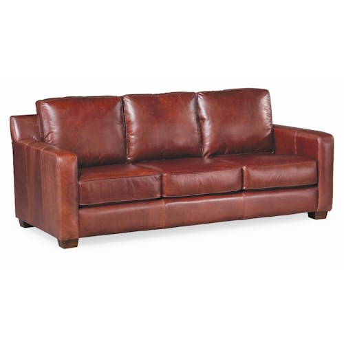 Thomasville® Leather Choices - Metro Select Plus 3-Seat Leather Sofa