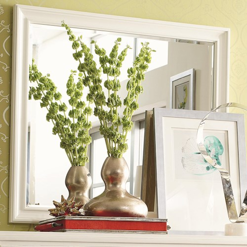 Thomasville® Manuscript Landscape Mirror w/ Beveled Plate