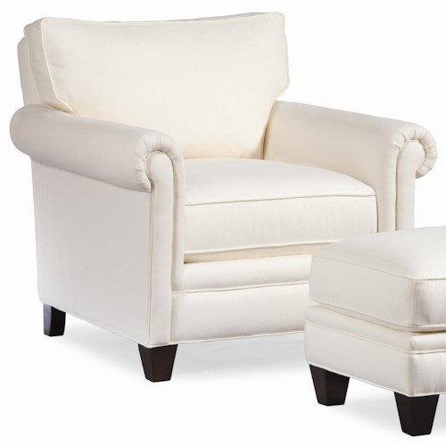 Thomasville® Mercer Series Chair with Panel Arms