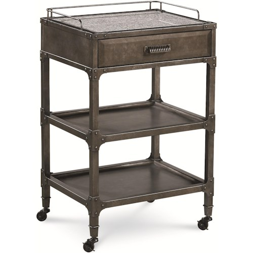 Thomasville® Reinventions Shop Floor Side Table w/ Drawer